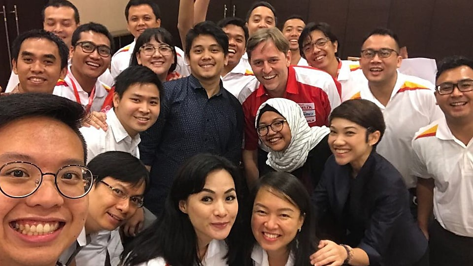 I had a great time in this group mentoring session with our Shell EVP.