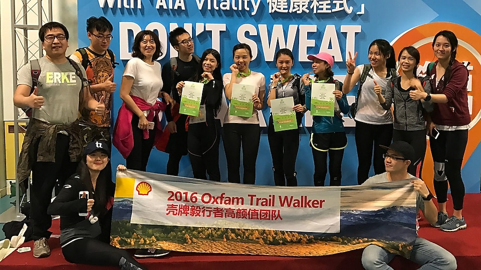 We accompanied and encouraged each other through the whole adventure. Our friends were there and supported us to persevere and complete the 100km mountain-walk challenge.