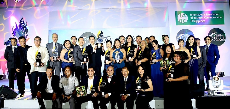 Shell companies in the Philippines' outstanding communications programmes and campaigns were feted this year by the International Association of Business Communicators in its 15th Philippine Quill Awards. The company brought home a total haul of 16 awards, including one Top Award, 7 Awards of Excellence, and 8 Awards of Merit. This year marked a special milestone for Shell, as for the first time ever, it took home a Quill Top Award for the entry 'Shell Sustains Involvement and Engagement through Elevated Communications' in the Communication Research division.