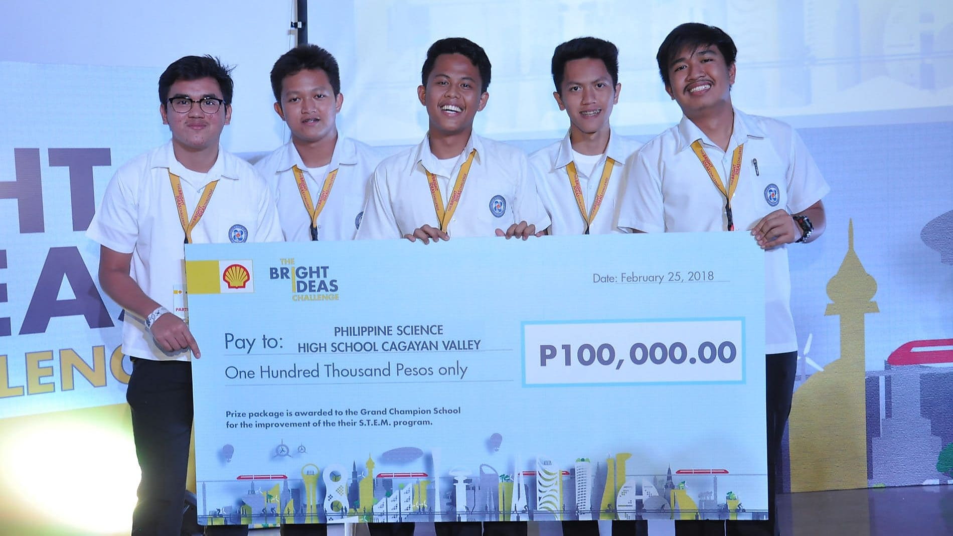 The Bright Ideas Challenge 2018 student winners