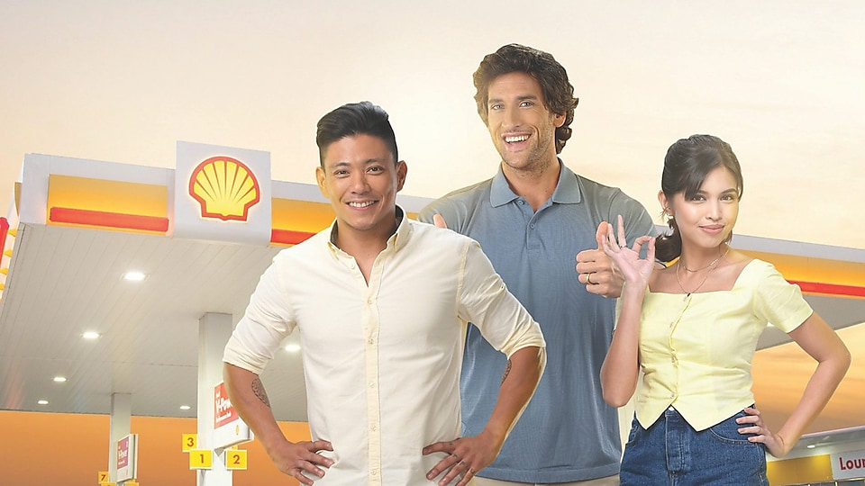 Maine Mendoza, Drew Arellano, and Nico Bolzico recommend Shell Fuels