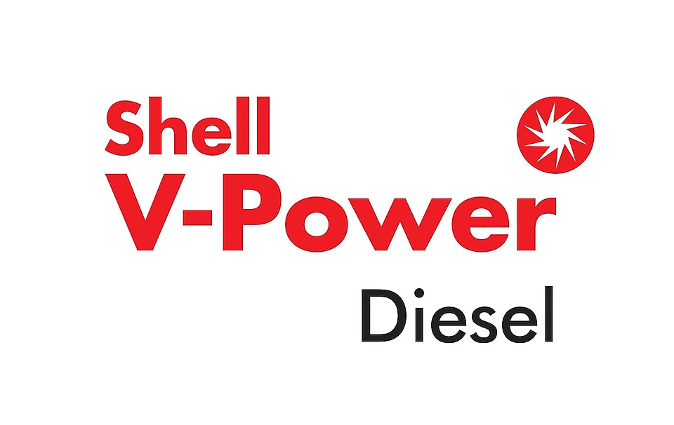 shell v-power diesel logo