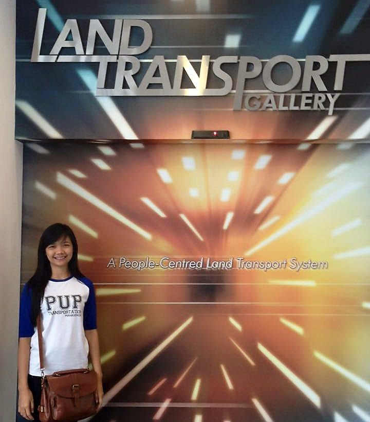Leadership exchange programme representative Shinny Dantes in Singapore