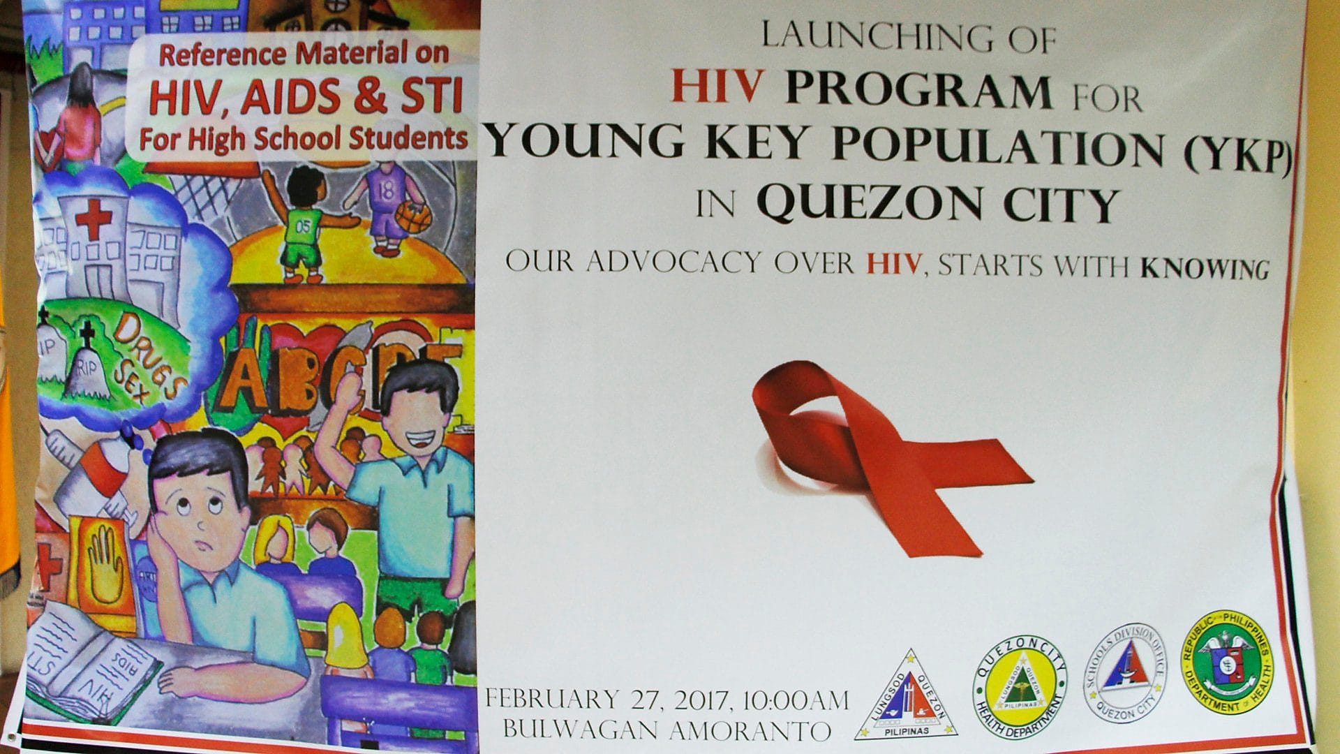 Quezon City launches youth-centric HIV programme
